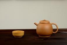 紫砂壶图片:淞庐作品 杀茶利器 全手明式龙蛋  茶人最爱~~实用佳品 - 全手工紫砂壶网