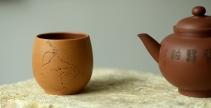 曲峰紫砂壶 曲峰雅致品茗杯 做工精致  - 美壶网