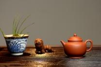 徐亚春紫砂壶 莱逸定制只为茶人 传统器形 铁观音利器 优质朱泥 美壶特惠 全手宫灯 原矿朱泥 - 美壶网