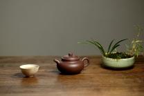 王微紫砂壶 秀雅风格 原矿优质紫泥  全手小仿古 传统实用小品 原矿紫泥 - 美壶网