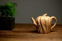 刘秀紫砂壶 刘秀全手经典新品 自然生动 古朴之味~~全手树魂 原矿段泥 - 美壶网