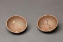 朱牧清紫砂壶 雅致有趣 做工精致 自用佳品~品茗杯  青灰泥 - 美壶网