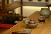 泓渝山房紫砂壶 美壶特惠 玩味巨轮 茶人最爱 实用 独孔加不锈钢滤网 原矿紫泥 - 美壶网