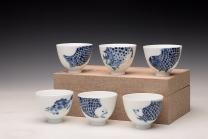 美壶定制紫砂壶 大生(姜寅)玩瓷 年年有余系列 趣味十足 ~ 品茗对杯  - 美壶网