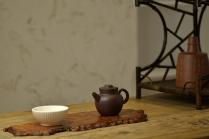 泓渝山房紫砂壶 美壶特惠 茶人最爱 杀茶利器 古朴小品 实用巨轮 原矿黑星土 - 美壶网