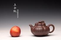 酒虎紫砂壶 酒虎丙申初夏 精心之作 大气磅礴 全手工上合桃 和石装饰 原矿紫泥 - 美壶网
