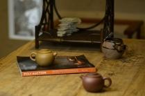 泓渝山房紫砂壶 美壶特惠 茶人最爱 古朴小品 实用小巨轮~紫泥 段泥一对  - 美壶网