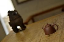 泓渝山房紫砂壶 美壶特惠 巨轮系列 杀茶利器  茶人最爱 古朴实用 原矿紫泥 - 美壶网