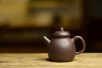 泓渝山房紫砂壶 日式高巨轮 美壶特惠 茶人最爱 杀茶利器 古朴玩味 原矿黑星土 - 美壶网