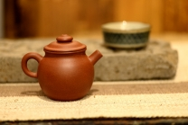 泓渝山房紫砂壶 美壶特惠 玩味巨轮 茶人最爱 实用 独孔加不锈钢滤网 原矿清水泥 - 美壶网