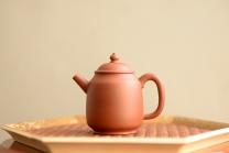 泓渝山房紫砂壶 美壶特惠 茶人最爱 实用耐品 炮管直流 红执 红皮龙 - 美壶网