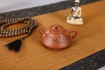 周路健紫砂壶 全手优美俊秀小石瓢 原矿降坡泥 - 美壶网