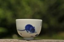 古月山房紫砂壶 生肖鼠 景德镇主人杯  - 美壶网
