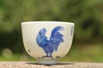 古月山房紫砂壶 生肖鸡 景德镇主人杯  - 美壶网