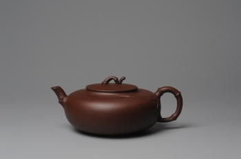 潘丹初紫砂壶 原创全手工紫竹 收藏佳作 原矿紫泥 - 美壶网