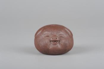 美壶定制紫砂壶 美宠特惠拉毛小猪茶宠摆件 随机发一只  - 美壶网