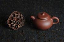 俞欣荣紫砂壶 美壶特惠 黄龙山底槽青 传统之茄段 原矿底槽清 - 美壶网