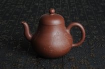 司磊紫砂壶 优质紫泥 全手工 思亭 原矿紫泥 - 美壶网