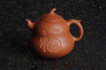 吴新良紫砂壶 美壶特惠 优质降坡泥葫芦福禄壶 原矿降坡泥 - 美壶网