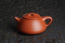 汤其平紫砂壶 百分百全手工优质朱泥石瓢壶 原矿朱泥 - 美壶网