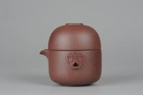 美壶定制紫砂壶 办公旅行便携式茶具快客杯 泥料非常好 送礼自用佳品 原矿紫泥 - 美壶网