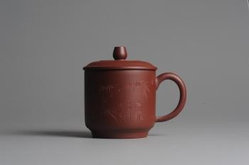 美壶定制紫砂壶 美壶双节特惠 清雅秀竹盖杯 原矿清水泥 - 美壶网