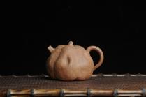 美壶定制紫砂壶 仿生花货 全手工文人小南瓜 肌理丰富 原矿降坡泥 - 美壶网