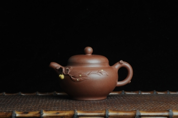 美壶定制紫砂壶 美壶特惠 柿圆壶 原矿清水泥 - 美壶网