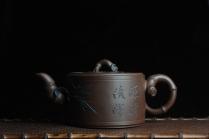 美壶定制紫砂壶 精品大竹段壶 嵌盖难度大  气势磅礴 原矿紫泥 - 美壶网