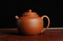 美壶定制紫砂壶 美壶特惠 优质朱泥线玉圆壶 做工精致 仅此一只 原矿朱泥 - 美壶网