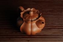 王世平紫砂壶 优质清水泥精品莲花僧帽 难度大 线条干净利落 原矿清水泥 - 美壶网