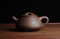 王新云紫砂壶 贺岁新品 优质紫茄泥全手工高士煮茶图 茶亦醉人 文气满瓢 原矿紫泥 - 美壶网