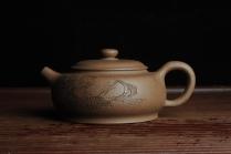 潘静超紫砂壶 美壶特惠 优质老段泥精致涌泉 卧石图 养后温润可人 老段泥 - 美壶网