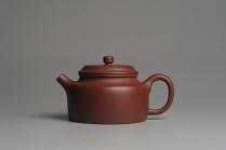 潘静超紫砂壶 美壶特惠 优质红拼泥经典大亨德中 茶人醉爱  - 美壶网
