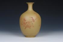 汪成琼紫砂壶 紫砂花瓶,高约25cm  - 美壶网