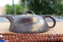 刘根林紫砂壶 福寿双全  - 美壶网