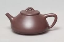 朱叶新紫砂壶 石瓢  - 美壶网