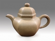 刘成果紫砂壶 六方掇球  - 美壶网