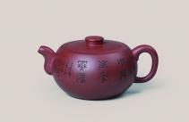 顾婷紫砂壶 石鼓  - 美壶网