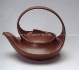汪寅仙紫砂壶 曲壶  - 美壶网