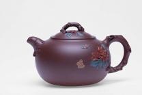 沈严峰紫砂壶 花开富贵  - 美壶网