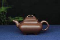 王秀局紫砂壶 牛盖传炉  - 美壶网