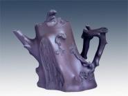 汪寅仙紫砂壶 梅桩  - 美壶网