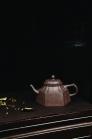 卢宁刚紫砂壶 六方菱花  - 美壶网