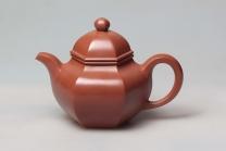 吴国芬紫砂壶 六方掇球  - 美壶网