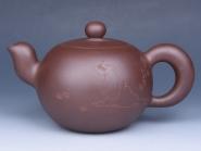 强建红紫砂壶     - 美壶网