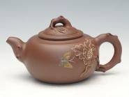 余颖紫砂壶 国色天香  - 美壶网