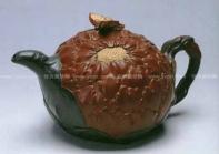 蒋蓉紫砂壶 牡丹壶  - 美壶网