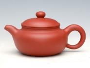朱新南紫砂壶 小仿鼓(清水泥)180-250ML  - 美壶网