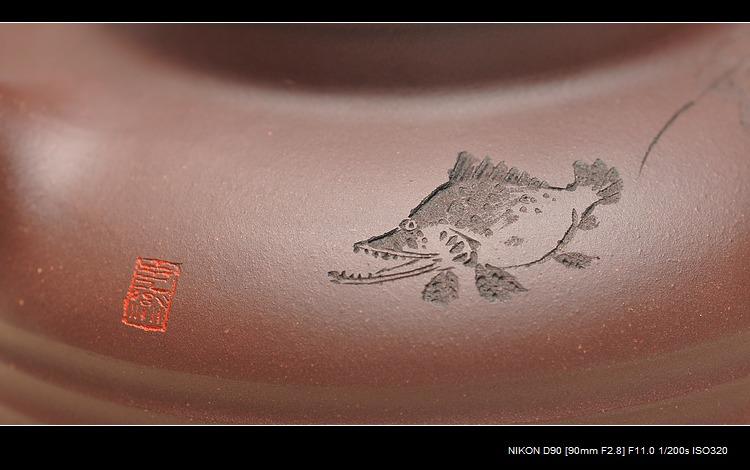 纹身画画鱼的步骤图片